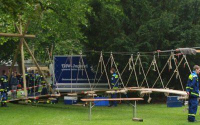 Stegbauprojekt der THW-Jugend Mülheim